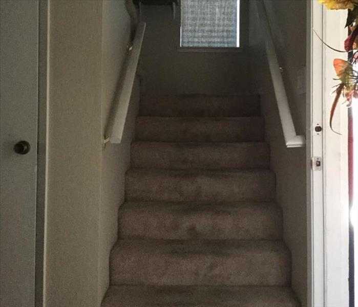 Stairs, Soot, Sanitation Before