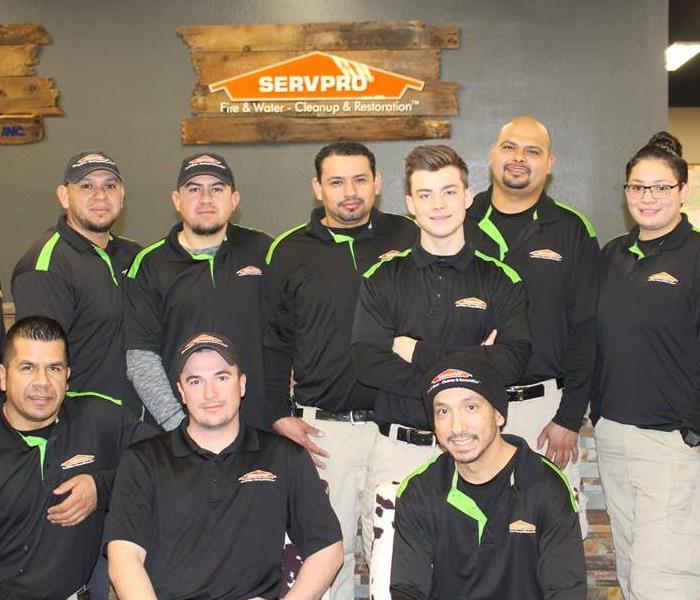 SERVPRO of Reno NW/Truckee/Tahoe Vista Crew Chiefs and IICRC Trained Technicians