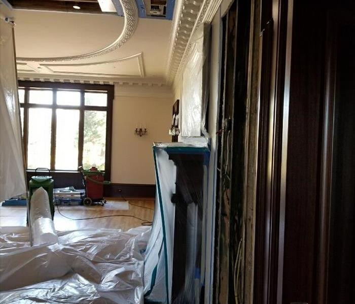 Water Damage Restoration in Historical Home