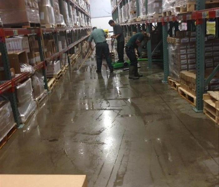 Flooded Big Box Store