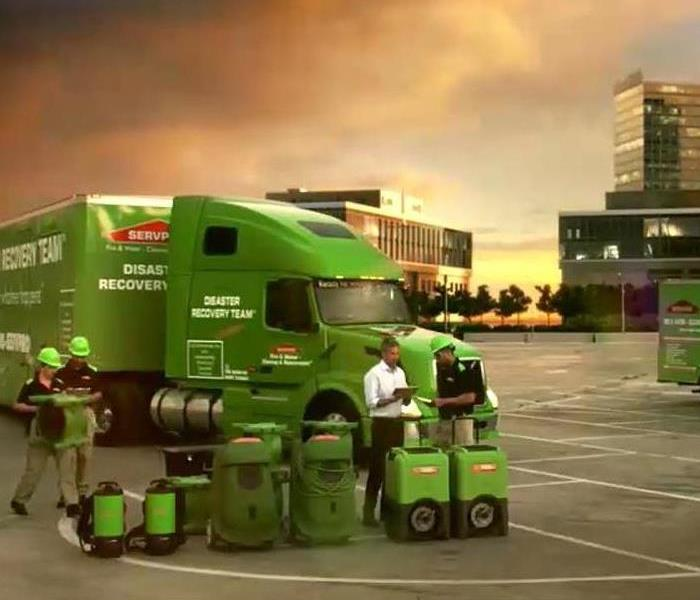 SERVPRO Equipment from Semi Truck to Small Trucks